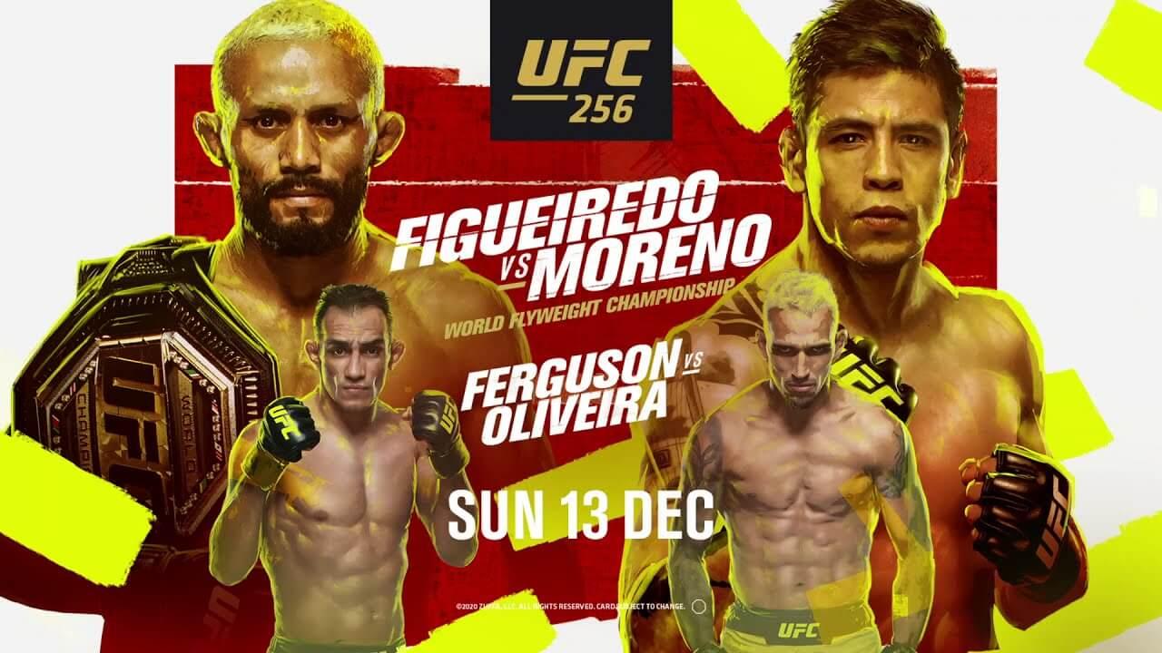 UFC 256 – vuoden 2020 viimeinen UFC-huipputapahtuma