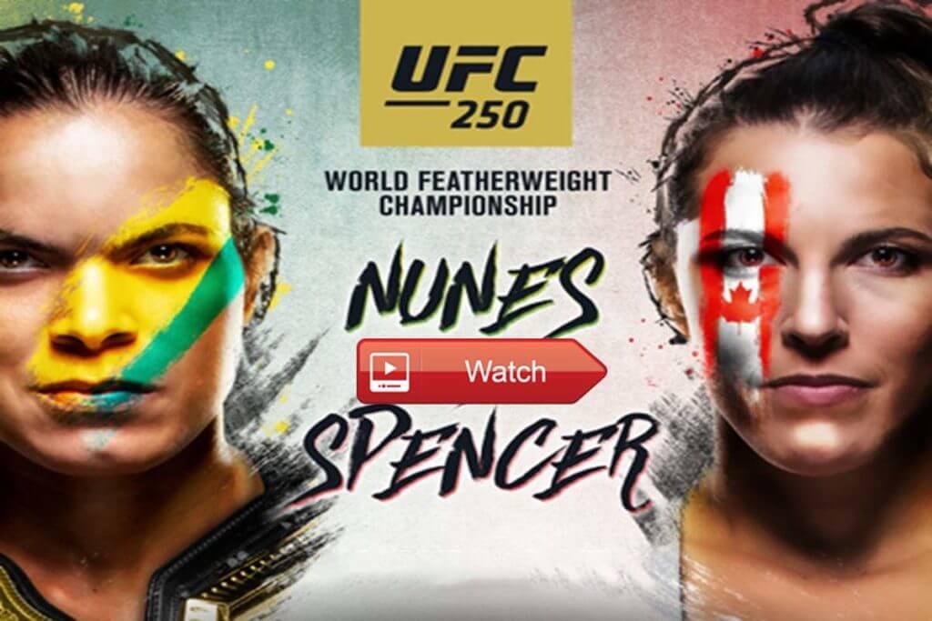 UFC 250 – vapaaottelun huipputapahtuma Brasiliassa 2020